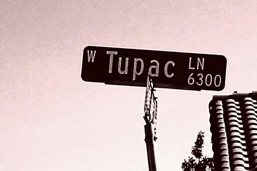 Tupac Lane, Las Vegas, USA. Photo by Josh Cordner