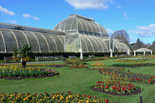 Kew Gardens, London. Photo by Heather Cowper