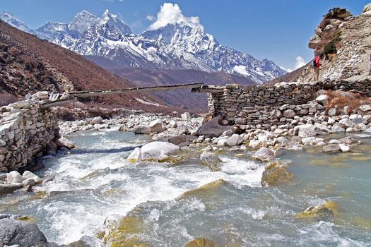 The Himalayas. Photo by Steve Hicks