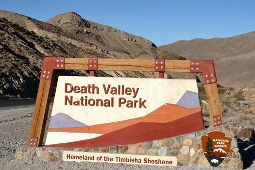 Death Valley National Park, California. Photo by Frank Kovalchek