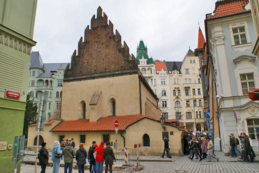 Old New Synagogue, Prague. Photo by greynforty