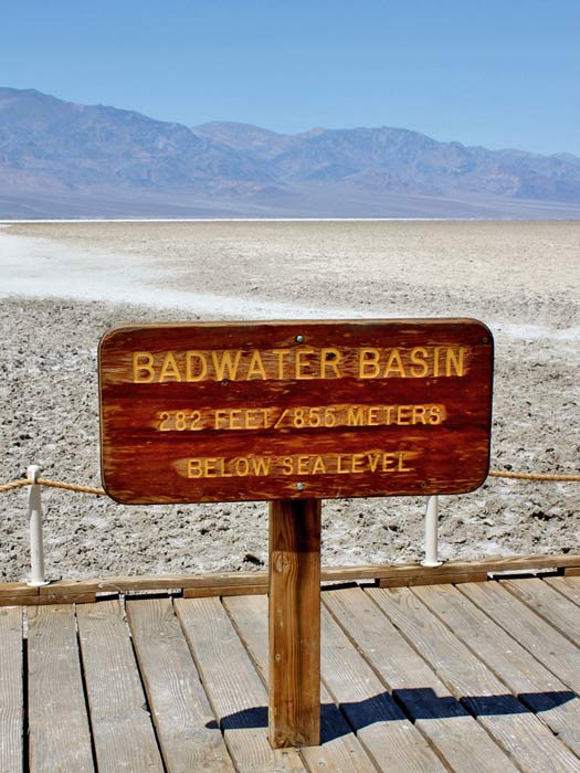 Badwater Basin, Death Valley. Photo by odonata98