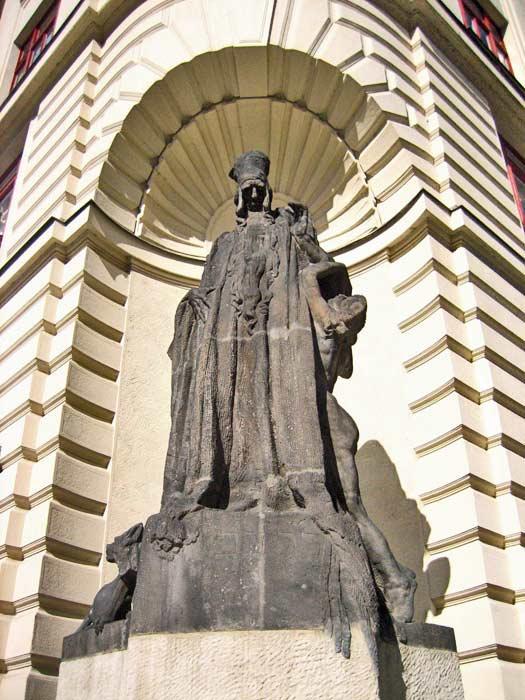 Rabbi Loew, the Golem of Prague's creator. Photo by Luis Villa del Campo