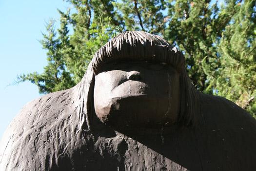 Bigfoot. Photo by Bob Doran