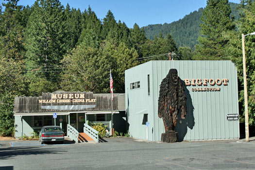 Bigfoot Museum, Willow Creek. Photo by Bob Doran