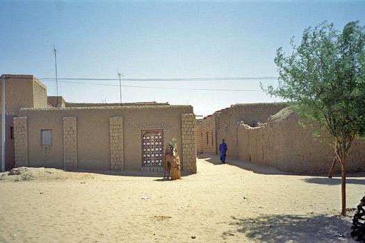 Timbuktu Street. Photo by upyernoz