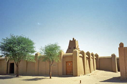 Sankore Mosque, Timbuktu. Photo by upyernoz