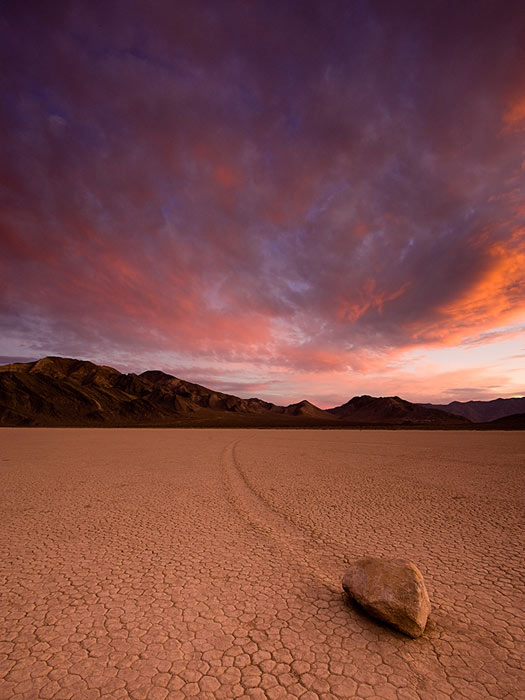 The Race Track, Death Valley. Photo by Eric Bryan