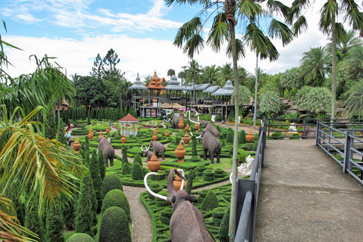 Nong Nooch, Thailand. Photo by Scott Zona