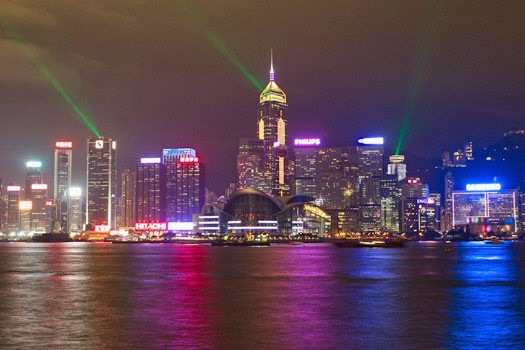 View of Victoria Harbour, Hong Kong. Photo by Nicolas Vollmer