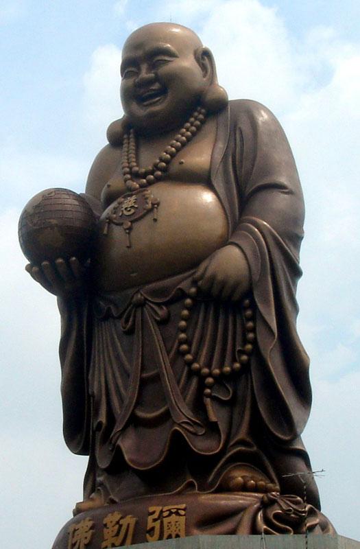 Great Standing Maitreya Buddha, Taiwan