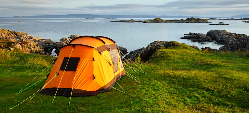 Remote UK Camping Destinations