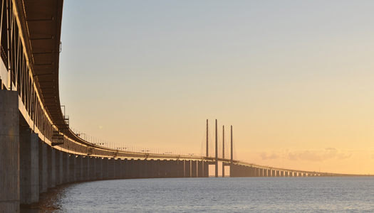 Part of the Øresund Bridge (Image: kullez)