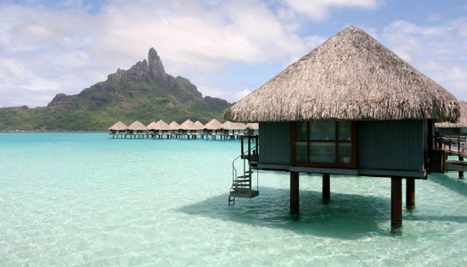 """Bora Bora, one of the filming locations for """"The Bachelorette"""" (Image: loulou)"""