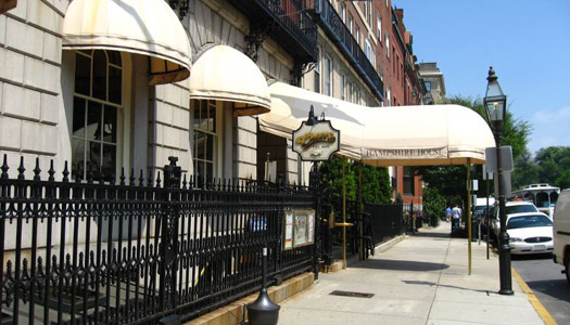 """The former Bull & Finch Pub in Boston, the bar that doubled as the exterior of the bar featured in """"Cheers"""" (Image: canuckistan used under a Creative Commons Attribution-ShareAlike license)"""