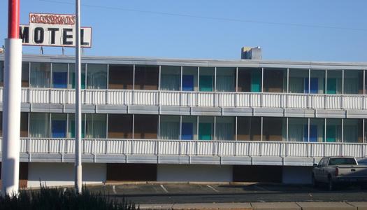 "The Crossroads Motel, a ""Breaking Bad"" filming location (Image: landschaft)"