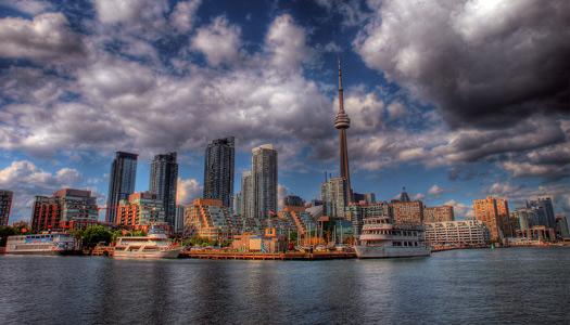 Toronto skyline (Image: dexxus)