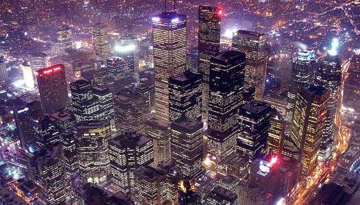 Aerial view of Toronto from the CN Tower (Image: dexxus)