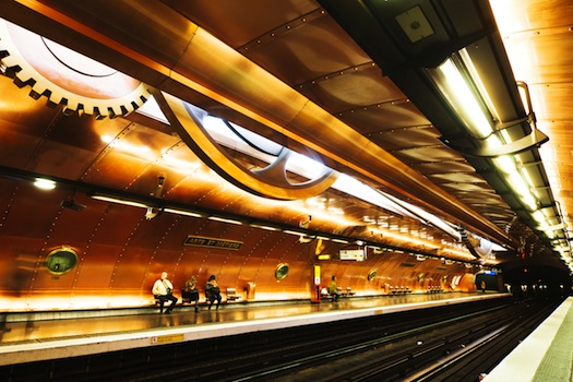 8 subway stations with amazing art