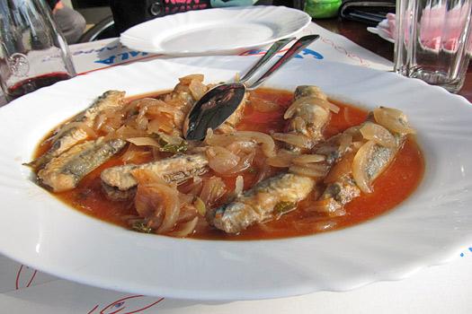 Savur (marinated sardines). Photo by Taste of Croatia