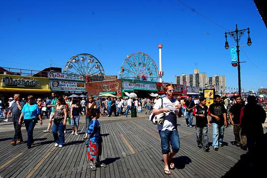 Coney Island Boardwalk, New York