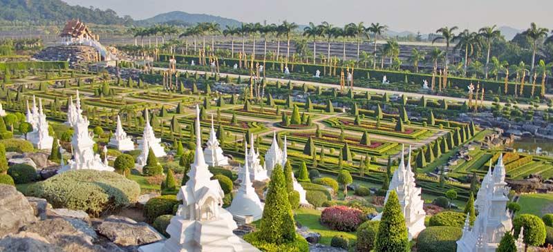 Top botanic gardens, Nong Nooch, Thailand. Photo by Mika Stetsovski