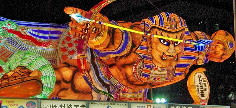 Festival of Lights: Aomori Nebuta Matsuri Japan