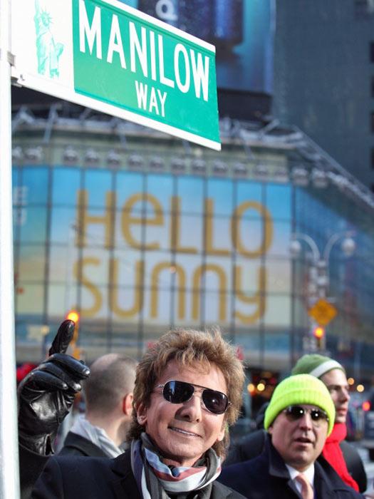 Manilow Way, NYC, USA. Photo by BroadwayWorld.com