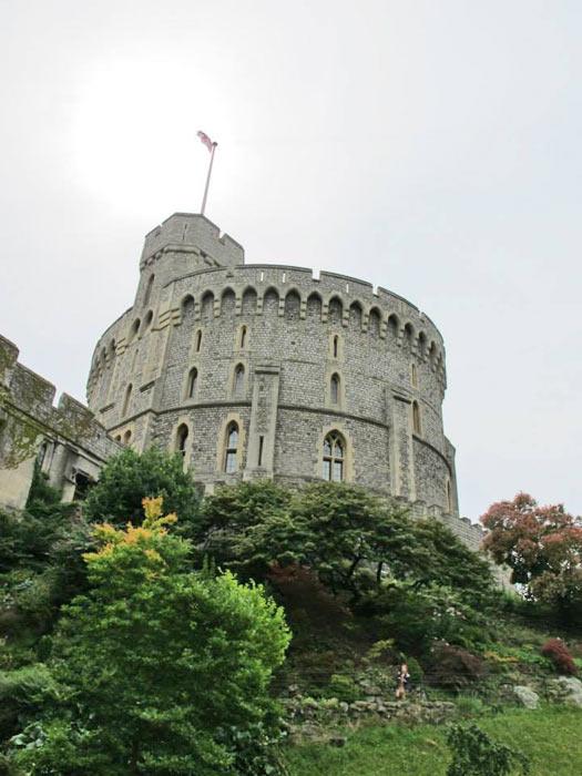 The Tower, Windsor Castle. Photo by Kara Segedin