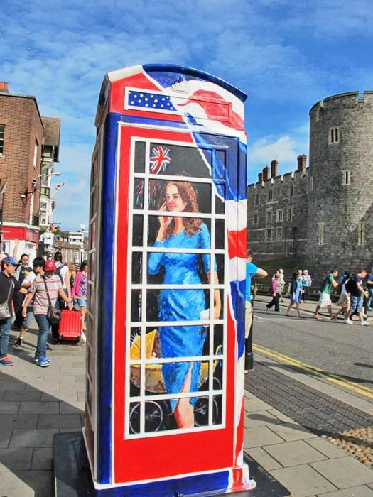 Everything is royal in Windsor. Photo by Kara Segedin