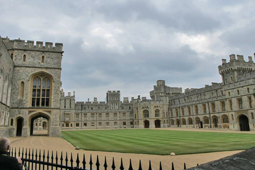 The Queen's private residences, Windsor Castle. Photo by Kara Segedin