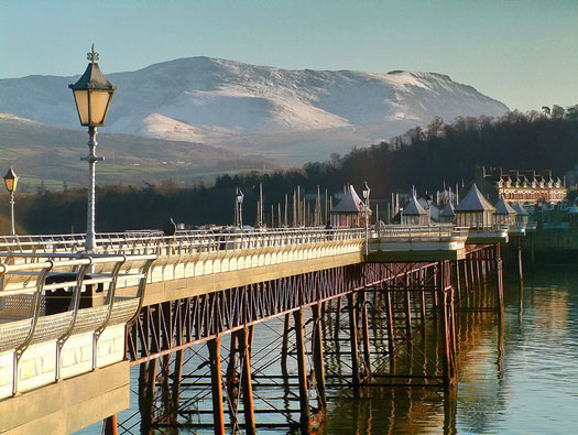 Bangor Pier, Wales