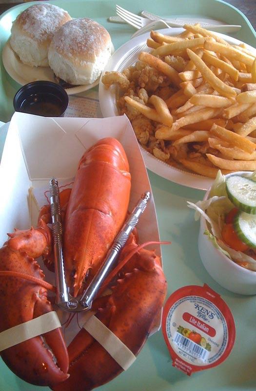 Maine's best lobster shacks