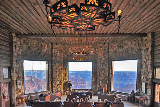 Grand Canyon Lodge, Arizona, USA. Photo by Grand Canyon National Park