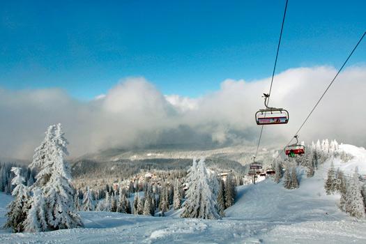 Beautiful Jahorina Mountain, Bosnia. Photo by Ski Sarajevo.