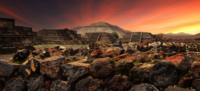 Magical Mexican ruins