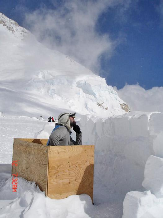 Mount McKinley Toilet, Alaska. Photo by seth@LOKI