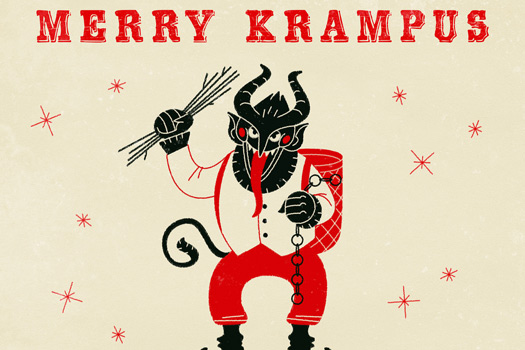 Merry Krampus Card. Photo by Cea.