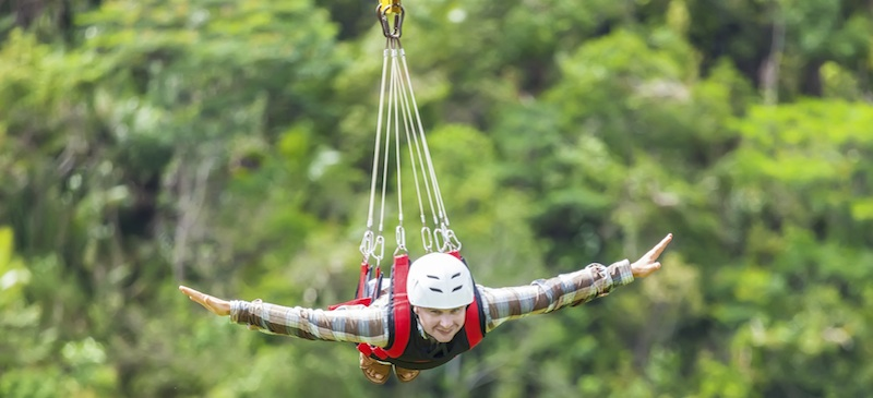 8 extremely extreme zip lines