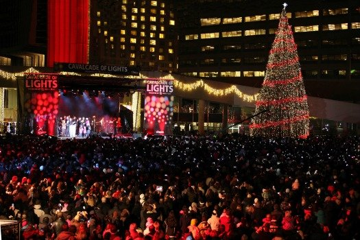 Cavalcade of Lights 2012. Photo by City of Toronto
