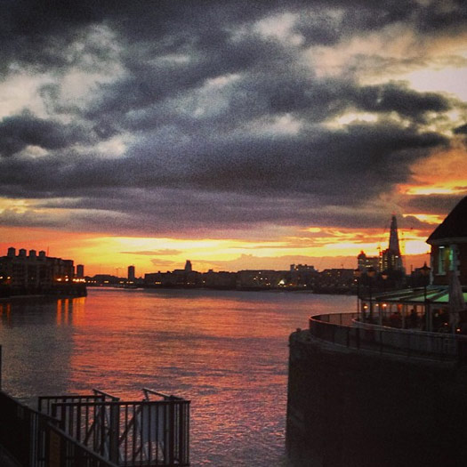 Top places to watch the sunset in London