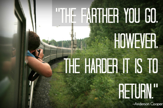 Travel Quotes for the Adventurous Traveller. Photo by Bernt Rostad