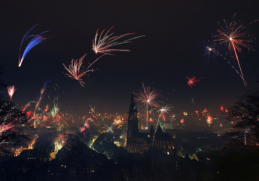 5 intriguing New Year traditions from Central Europe