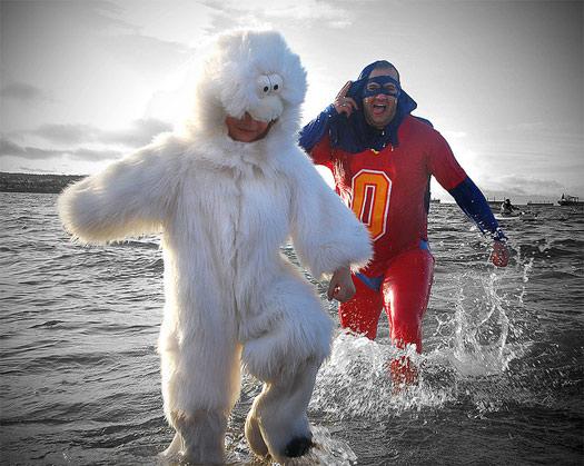 7 places for a Polar Bear Swim
