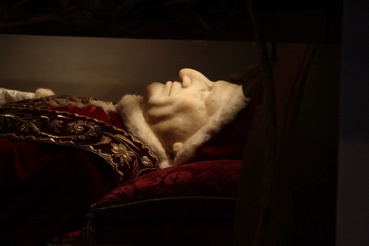 7 famous dead people who are, em, on display around the world