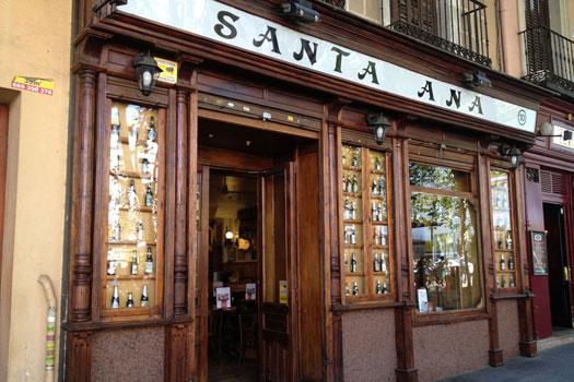 Cerverceria Santa Ana, Madrid, Spain © Cerverceria Santa Ana