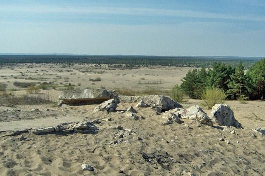 Bledow Desert (Pustynia Błędowska), Poland. Photo by Grzegorz
