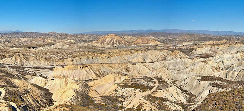 Tabernas Desert, Spain. Photo by Luis Daniel Carbia Cabeza