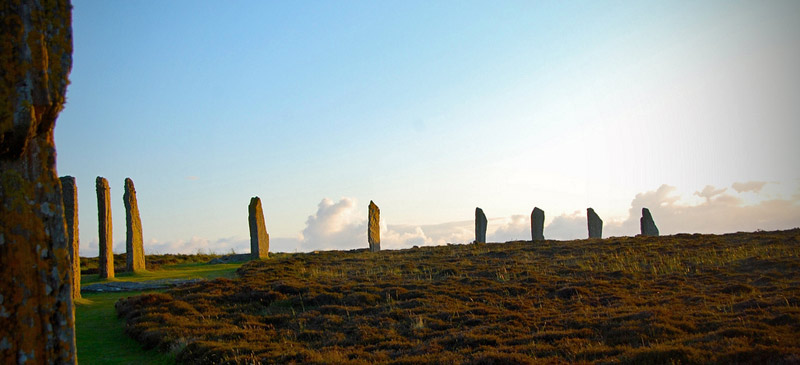 Top 10 Solar Phenomena. Ring of Brodgar, Scotland. Photo by Kristel Jeuring