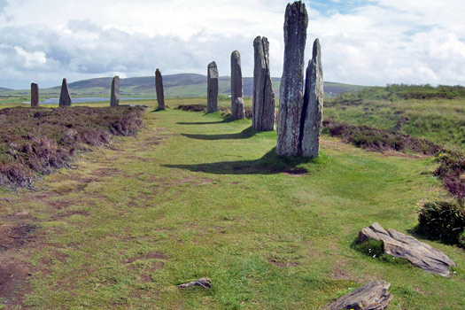 Ring of Brodgar, Scotland. Photo by Freddie Phillips